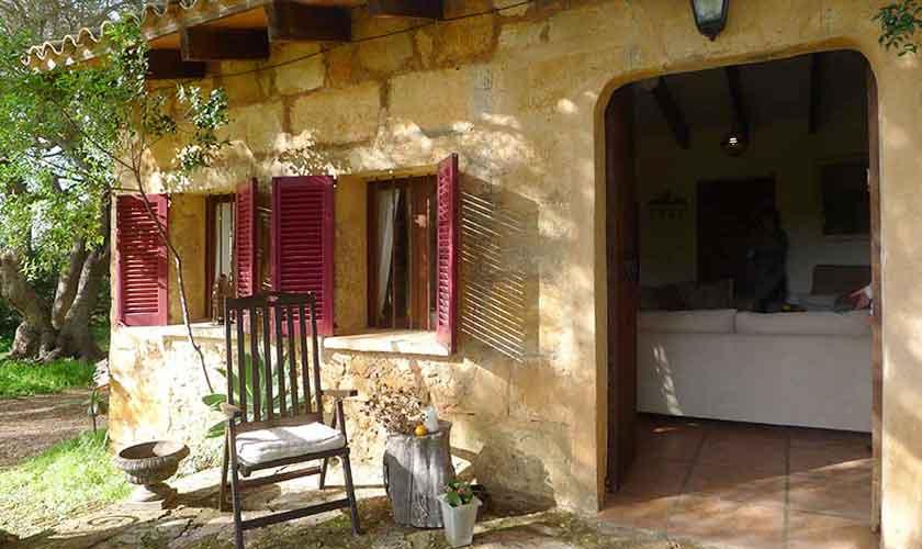 Blick auf die Finca Mallorca Nordosten PM 5208