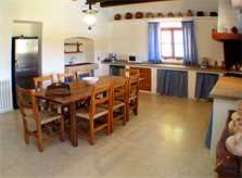 Küche Ferienfinca Mallorca PM 520