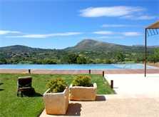 Pool und Blick Finca Mallorca PM 520