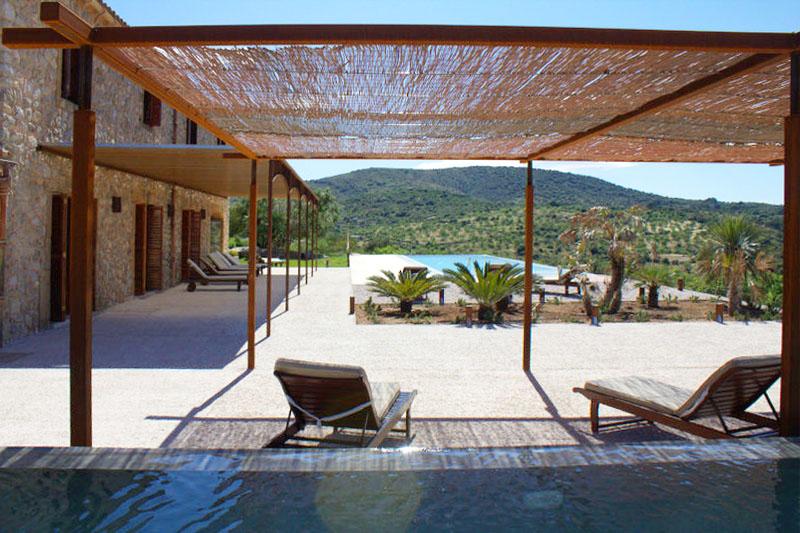Terrasse Exklusive Finca Mallorca PM 520