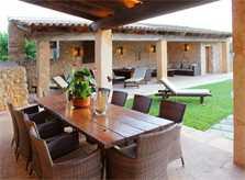 Terrasse Luxusfinca Mallorca PM 520