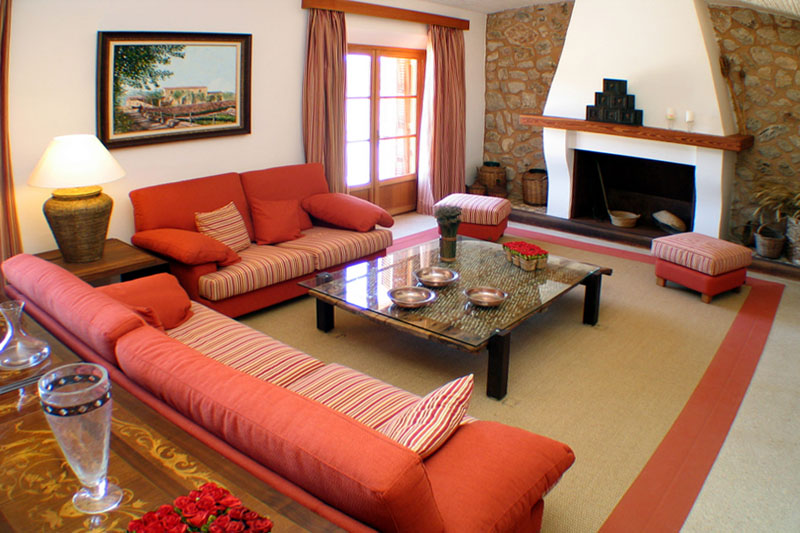 Wohnraum Luxusfinca Mallorca PM 520
