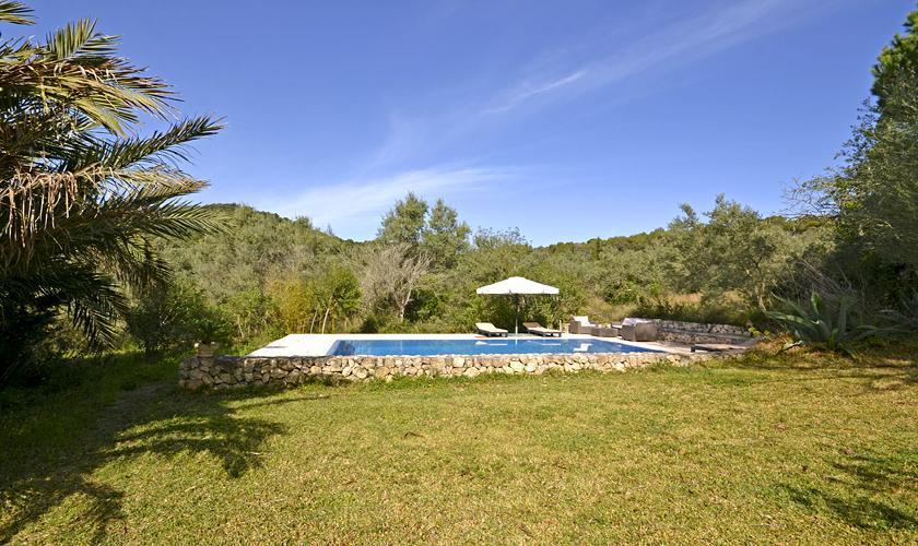 Poolblick Finca Mallorca PM 5235