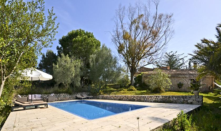 Pool der Ferienfinca Mallorca PM 5235