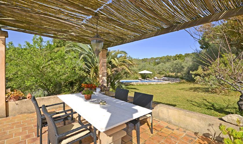 Terrasse Finca Mallorca PM 5235