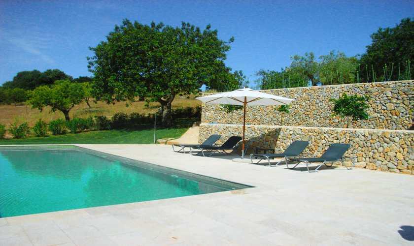 Poolblick Finca Mallorca 4 Personen PM 523