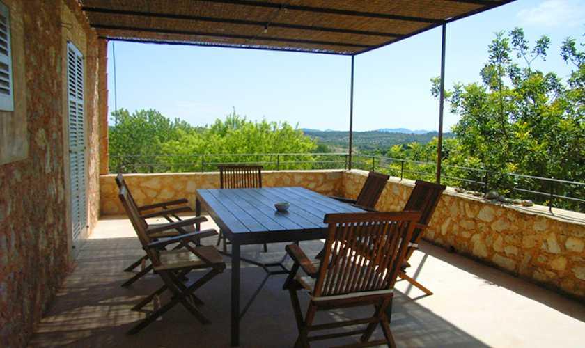 Terrasse Finca Mallorca 4 Personen PM 523