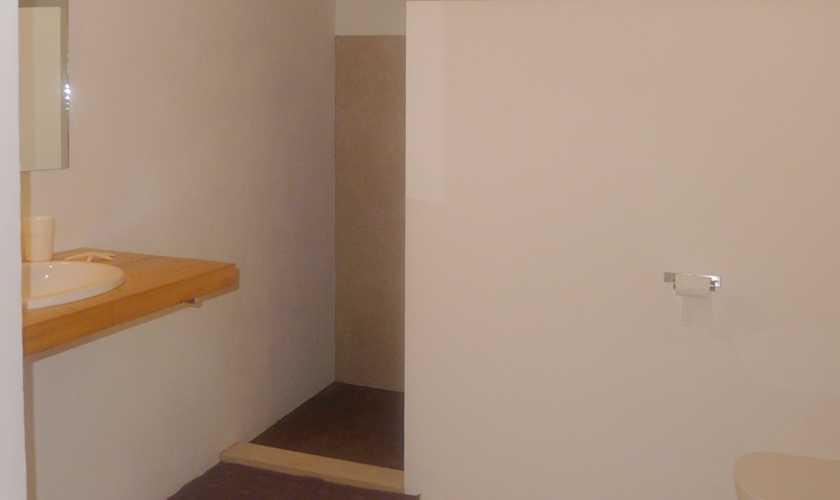 Badezimmer Ferienhaus Mallorca Nordosten PM 5251