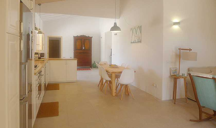 Küche Ferienfinca Mallorca Nordosten PM 5251