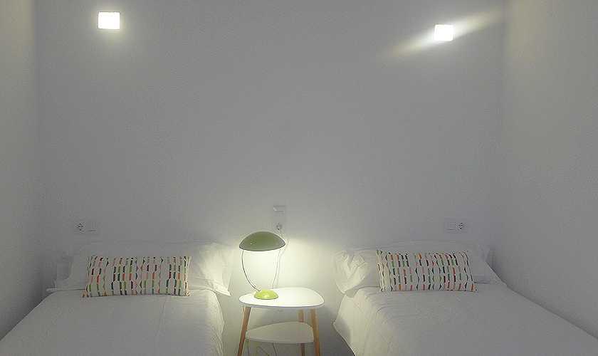 Schlafzimmer Ferienhaus Mallorca Nordosten PM 5251