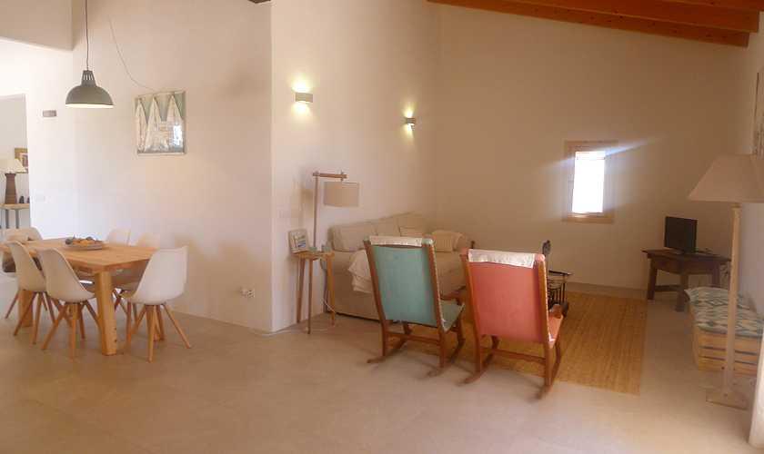 Wohnraum Finca Mallorca 6 Personen PM 5251