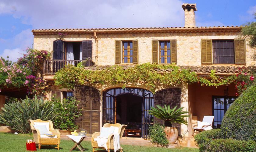 Blick auf die Finca Mallorca Nordosten PM 534