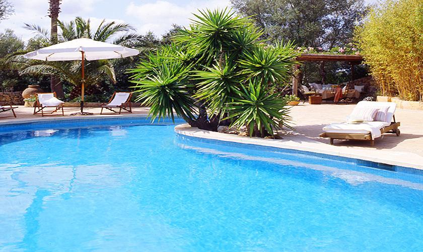 Pool und Terrasse der exklusiven Finca Mallorca PM 534