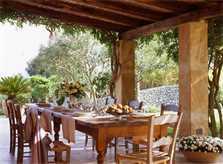 Terrasse Exklusive Finca Mallorca Nordosten PM 534