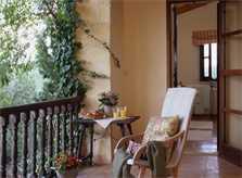Terrassse oben Finca Mallorca Nordosten PM 534