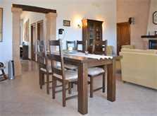 Esstisch Ferienhaus Mallorca Nordosten PM 5351