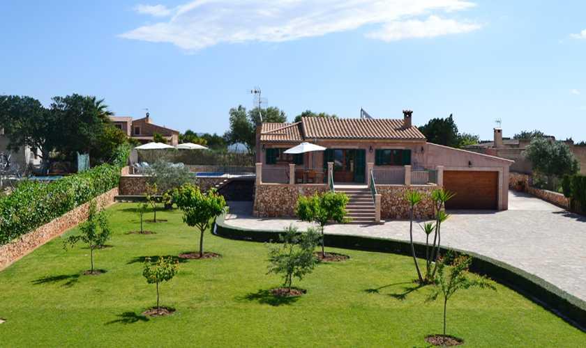 Blick auf die Finca Mallorca Nordosten PM 5351