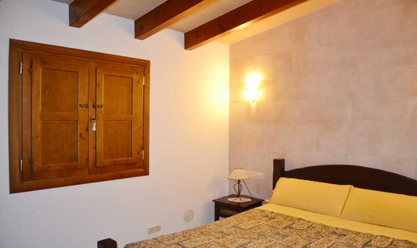 Schlafzimmer Ferienhaus Mallorca 6 Personen PM 5351
