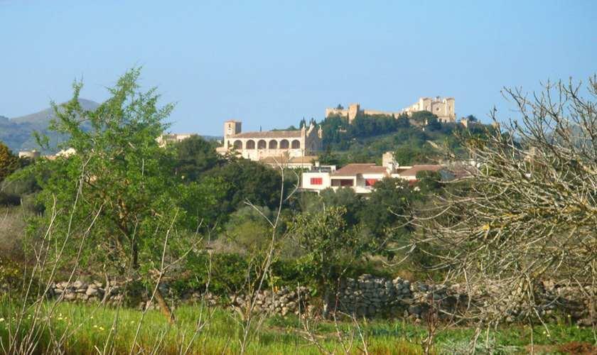 Blick Ferienfinca Mallorca Nordosten PM 5372