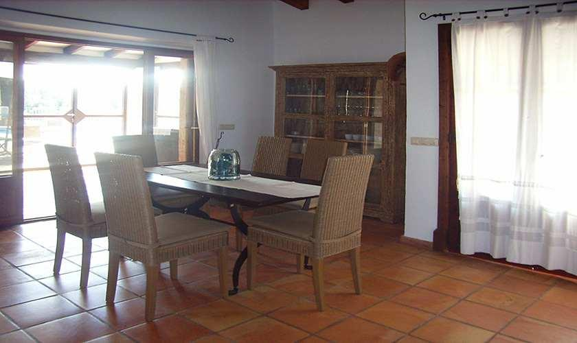 Essplatz Ferienfinca Mallorca Nordosten PM 5372