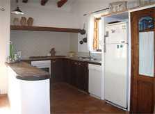 Küche Ferienfinca Mallorca Nordosten PM 5372