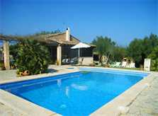 Pool Ferienfinca Mallorca Nordosten PM 5372