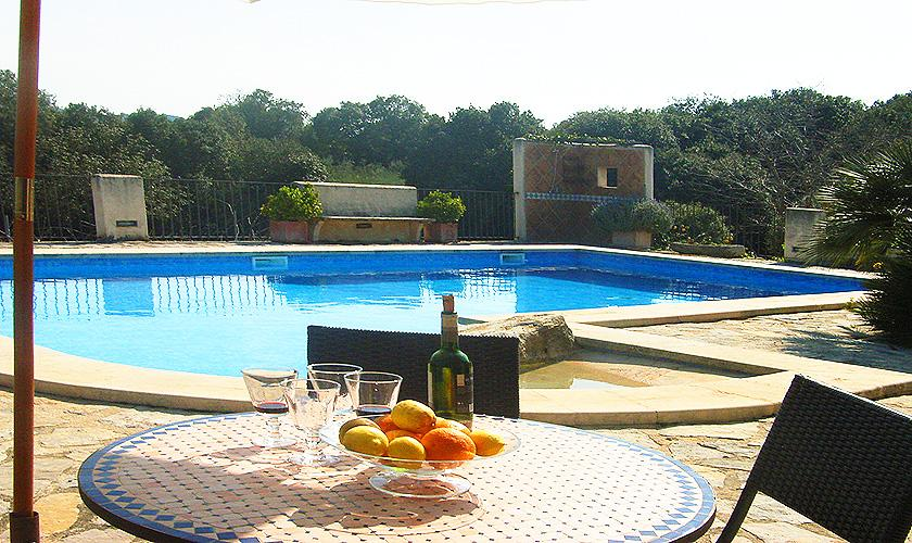 Pool Finca Mallorca Nordosten PM 5372