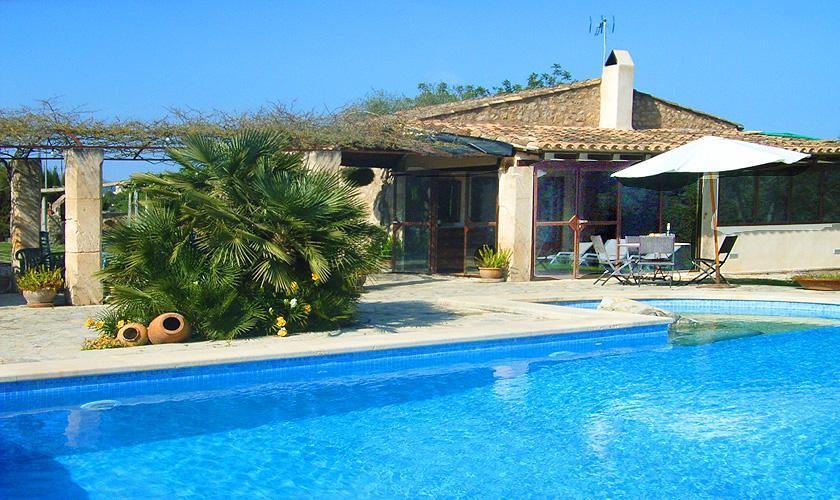 Pool und Ferienfinca Mallorca Nordosten PM 5372