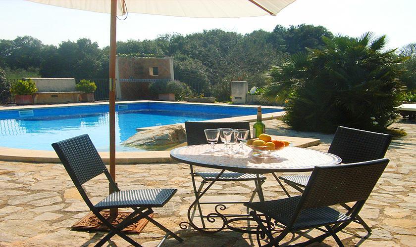 Terrasse Finca Mallorca Nordosten PM 5372
