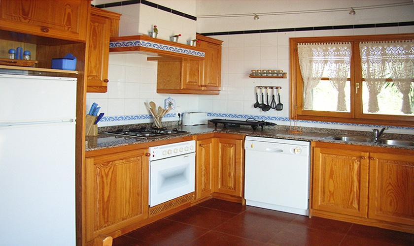 Küche Finca Mallorca Arta PM 5395 für 8 Personen