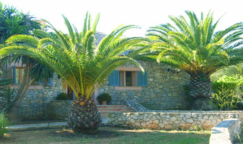 Garten Finca Mallorca Arta PM 5395 für 8 Personen