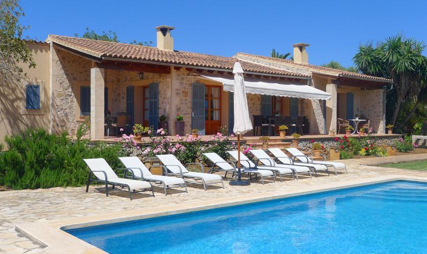 Pool Finca Mallorca Arta PM 5395 für 8 Personen