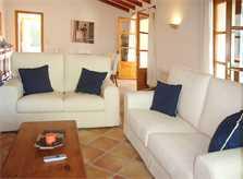 Wohnraum Ferienfinca Mallorca Arta PM 5395 für 8 Personen