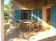 Terrasse Finca Mallorca Arta PM 5395 für 8 Personen