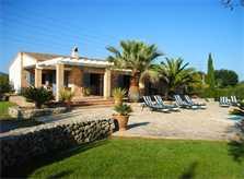 Blick auf die Finca Mallorca Nordosten für 6 - 8 Personen PM 5396