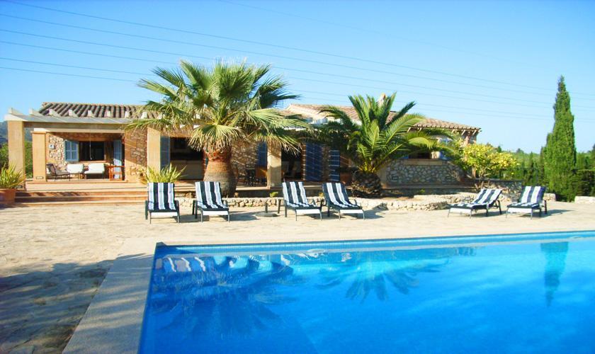 Pool und Finca Mallorca Nordosten für 6 - 8 Personen PM 5396