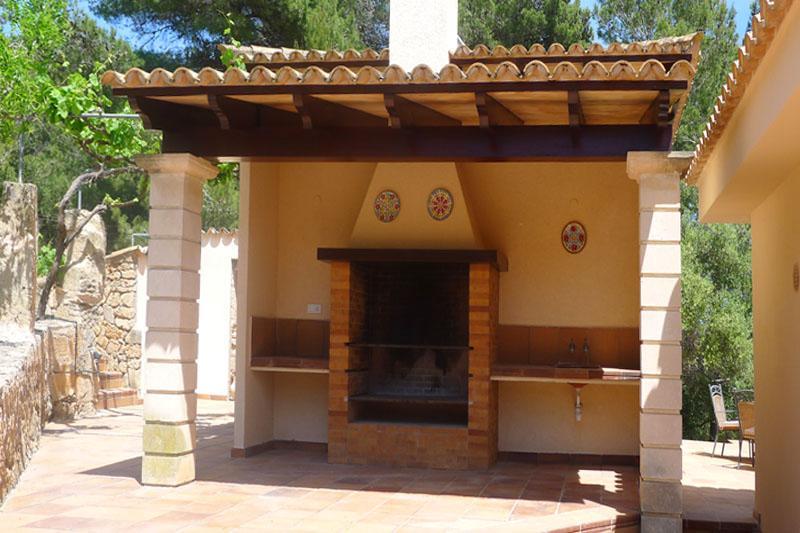 Barbecue 2 Ferienvilla Mallorca Ostküste PM 5398