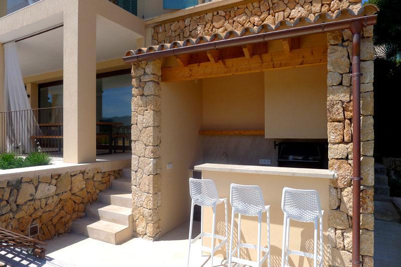 Barbecue Luxusvilla Mallorca Ostküste PM 5398