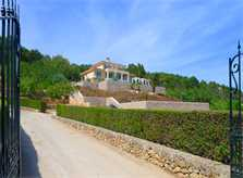 Zufahrt  Ferienvilla Mallorca Ostküste PM 5398