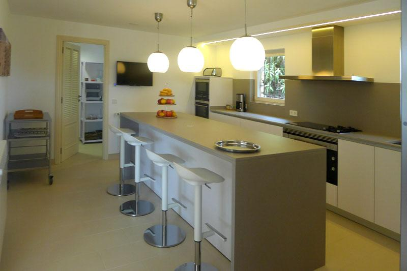 Küche Luxusvilla Mallorca Ostküste PM 5398
