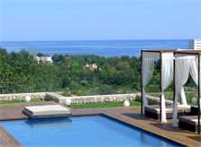 Meerblick und Pool Ferienvilla Mallorca Ostküste PM 5398