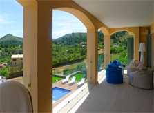 Terrasse oben Luxusvilla Mallorca Ostküste PM 5398