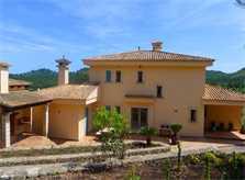 Blick auf die Ferienvilla Mallorca Ostküste PM 5398