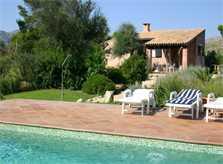 Blick auf die kleine Finca Mallorca Nordosten 2-4 Personen PM 541