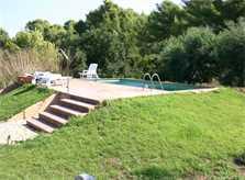 Garten und Pool Finca Mallorca Nordosten 2-4 Personen PM 541