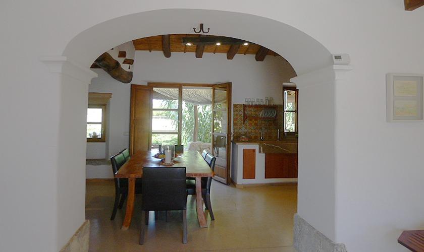 Eingang zur Finca Mallorca PM 5428
