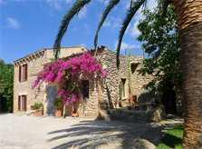 Blick auf das Ferienhaus Mallorca PM 5428