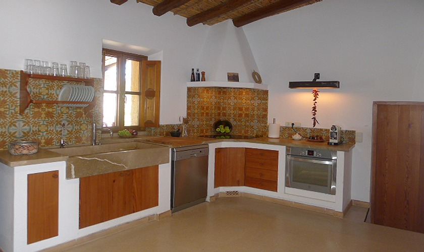Küche Ferienfinca Mallorca PM 5428