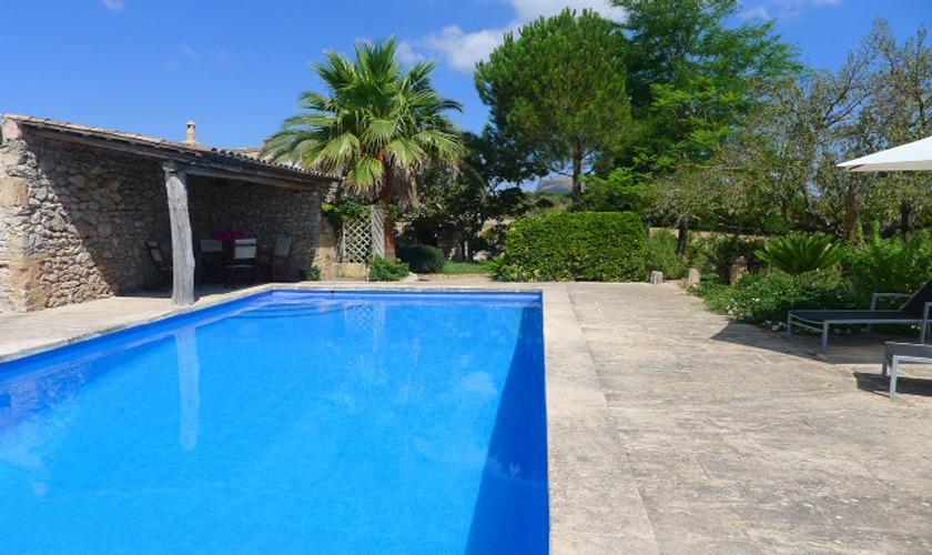 Poolblick Finca Mallorca PM 5428
