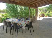 Überdachte Terrasse Finca Mallorca PM 5428